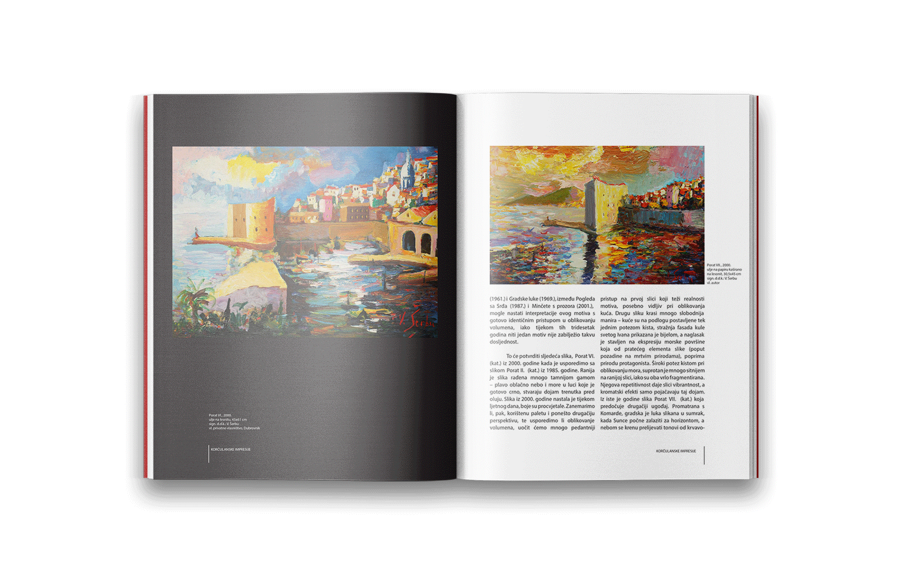 art monograph book design