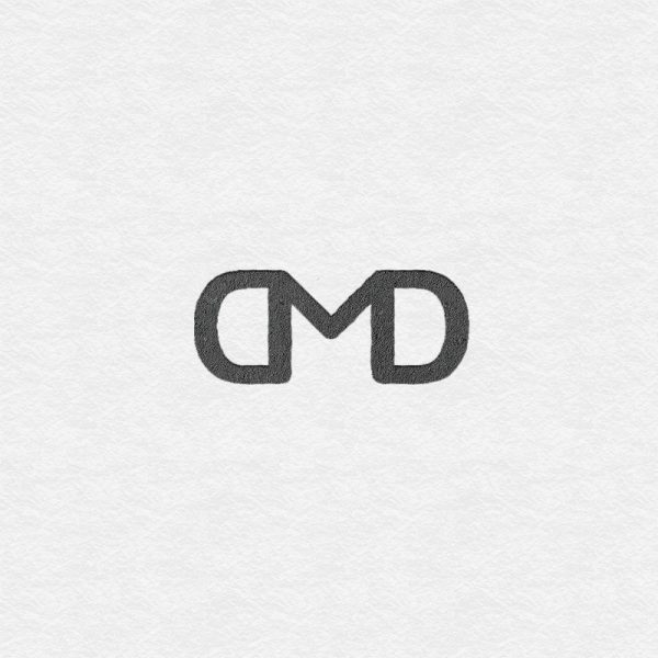 Digi Marketing Dummies logo consisting of letters D, M and D, forming one sign together.